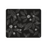 коврик для мышки Dialog PM-H15 leafs, черный
