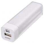 аксессуар для телефона Мобильный аккумулятор Hama H-124523 2600mAh, белый