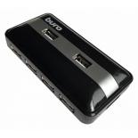 USB-концентратор Buro BU-HUB7-U2.0, черный