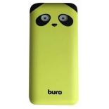 Аккумулятор универсальный Мобильный аккумулятор Buro RA-10000PD 10000mAh, лайм, купить за 1 060руб.