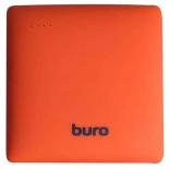 аксессуар для телефона Мобильный аккумулятор Buro RA-7500PL-OR Pillow 7500mAh, оранжевый