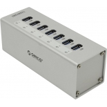 USB-концентратор Orico A3H7-SV, серебристый