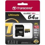 карта памяти Transcend TS64GUSDU3M 64Gb UHS-1
