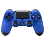 контроллер (плата расширения для ПК) Sony Dualshock 4 v2 для PlayStation 4 (CUH-ZCT2E), синий