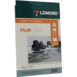 фотобумага для принтера Lomond 0102033, матовая двусторонняя