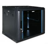 серверный шкаф Hyperline TWFS-0445-GP-RAL9004, черный