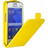 чехол для смартфона SkinBox для Samsung G313/318 Galaxy ace 4 Жёлтый