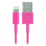 зарядное устройство Smartbuy USB - 8-pin для Apple Розовый (1.2 м)