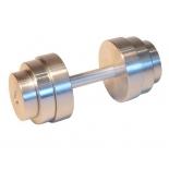гантель Classic  УТ-00010156 разборная металлическая 16 кг