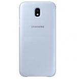 чехол для смартфона Samsung для Galaxy J7 (2017) Flip Wallet, голубой