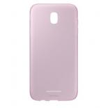 чехол для смартфона Samsung для Galaxy J7 (2017) Jelly Cover, розовый