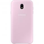 чехол для смартфона Samsung для Samsung Galaxy J7 (2017) Dual Layer Cover, розовый