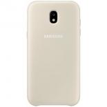 чехол для смартфона Samsung для Samsung Galaxy J3 (2017) Dual Layer Cover, золотистый
