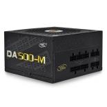 блок питания Deepcool DA500-M 500W (120 mm fan, 80+ Bronze)
