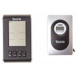метеостанция Buro H103G, серебристо-черная
