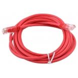 кабель (шнур) AOpen ANP511_20M_R (UTP 5e, 20 м), красный