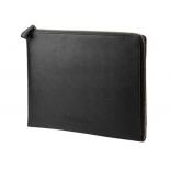аксессуар для ноутбука HP №13.3 Prm Lth Blk Zip Sleeve (Чехол для ноутбука)