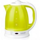 чайник электрический Bbk EK1755P белый-лайм
