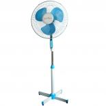 вентилятор  Maxtronic MAX-1635-2, белый/голубой