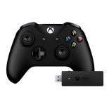 геймпад Microsoft Xbox One CWT-00003 (USB - Bluetooth), Черный
