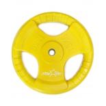 диск для штанги Starfit BB-201 (15 кг), Желтый