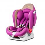 автокресло Liko Baby LB 510, фиолетово-бежевое