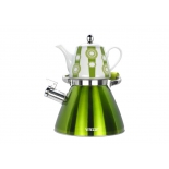 набор чайников Vitesse VS-7812 (3,0 л) зелёный