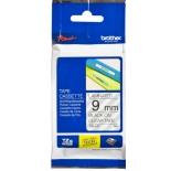 лента для печати наклеек Brother TZ-E121 9mm Black