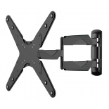 кронштейн Arm Media COBRA-405, настенный, поворот, наклон, 26-55'', до 35 кг, чёрный