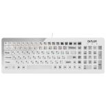 клавиатура Delux DLK-1500, Белая