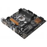 материнская плата ASRock B150M PRO4S Soc-1151 B150 DDR4 mATX SATA3  LAN-Gbt USB3.0 DVi/HDMI