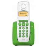 радиотелефон Gigaset A130 зеленый с белым