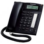 проводной телефон Panasonic KX-TS2388RUB, Чёрный