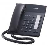 проводной телефон Panasonic KX-TS2382RUB, Чёрный