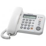 проводной телефон Panasonic KX-TS2358RUW, Белый