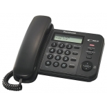 проводной телефон Panasonic KX-TS2356RUB, Чёрный