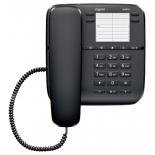 проводной телефон Gigaset DA410, Чёрный