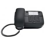 проводной телефон Gigaset DA310, Чёрный