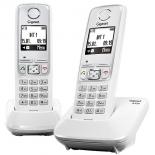 радиотелефон Gigaset A420 DUO, белый