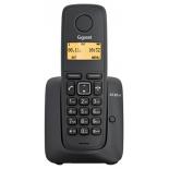 радиотелефон Gigaset A120 AM, Чёрный