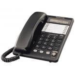 проводной телефон Panasonic KX-TS2365RUB Чёрный