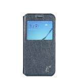 чехол для смартфона G-case Slim Premium для Samsung Galaxy S6, темно-синий