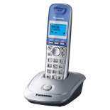 радиотелефон Panasonic KX-TG2511RUS, серебристо-голубой