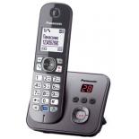 радиотелефон Panasonic KX-TG6821RUM, Серый металлик