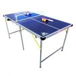 стол теннисный DFC (детский), Синий