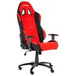 Игровое компьютерное кресло AKRacing Prime AK-K7018-BL, черное / красное, купить за 22 010руб.