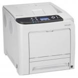 принтер лазерный цветной Ricoh SP C342DN, Белый