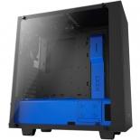 корпус компьютерный NZXT S340 Elite (CA-S340W-B5) Черно-синий