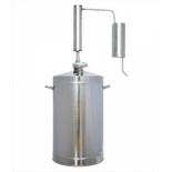 дистиллятор Первач Премиум Классик 16Т, домашний 16 л. (с термометром)