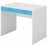стол компьютерный Мэрдэс СП-22С БЕСИ, Белый жемчуг - синий мрамор